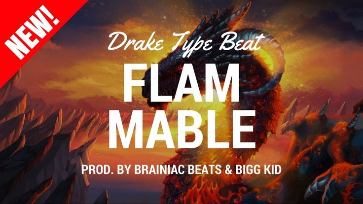 Drake Type Beats | Rap Beats Instrumental | Buy Rap Beats 'Flammable' by Brainiac Beats & Bigg Kid 💰 Purchase Link | Instant Delivery (Untagged): http://bsta...
