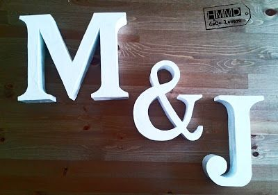 Handmademaniadecor Paper Letters Letters And 3d