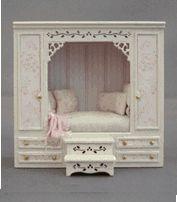 """1/4"""" EMMAS CUPBOARD BED"""