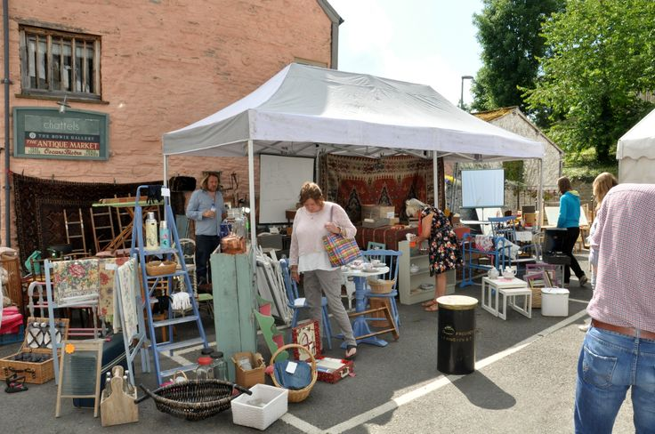 Find Tom's eclectic stall every Thursday in Hay-on-Wye