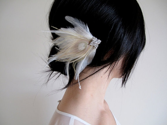 featherHair Pin, Burning Man, Hair Elegant, Creative Ideas, Hair Clips, Feathers Sidepiece, Feathers Pin, Hair Accessories, Feathers Hair