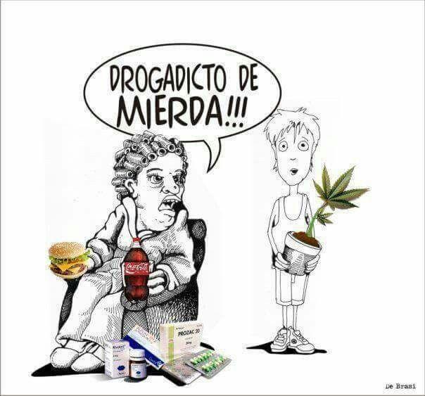 """Consumidor de """"junk food"""": drogados são os outros!!!"""
