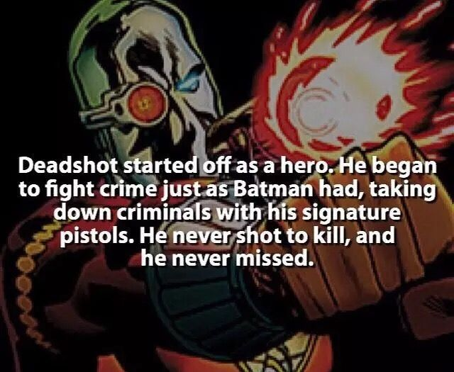 Deadshot fact