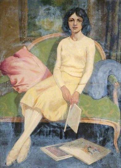 George Telfer Bear - La jeunesse, c.1940