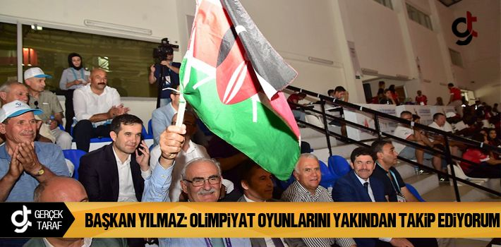 Samsun Haber: Başkan Yusuf Ziya Yılmaz Olimpiyat Oyunlarını Yakından Takip Ediyorum