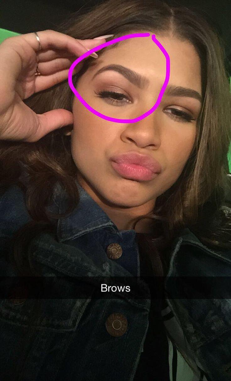 New Photo From Zendaya's Snapchat!