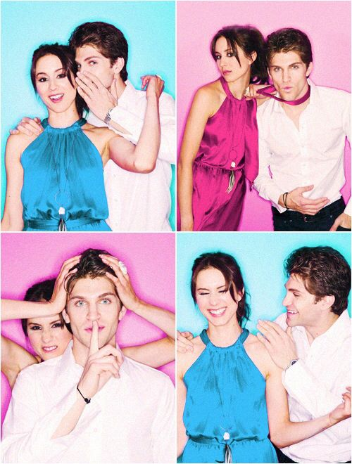 Pretty little liars Toby and Spencer I can't stop loving them together