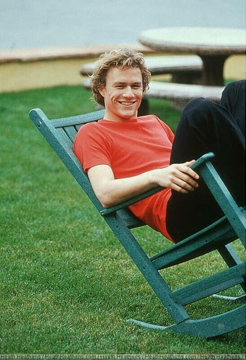 Heath Ledger. Such an amazing actor. RIP                                                                                                                                                                                 More