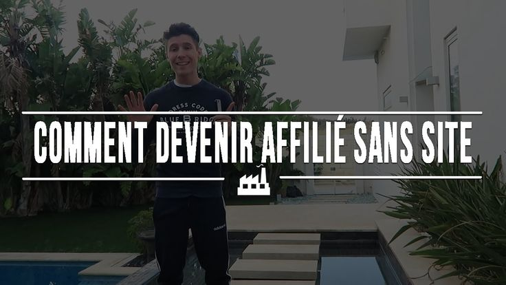 Comment devenir affilié sans site?  https://youtu.be/irzFPfn6OyU   Offert : 1 h de formation gratuite : http://formation.bloginfluent.fr/offert?affiliate_id=541418  #affiliation #webmarketing