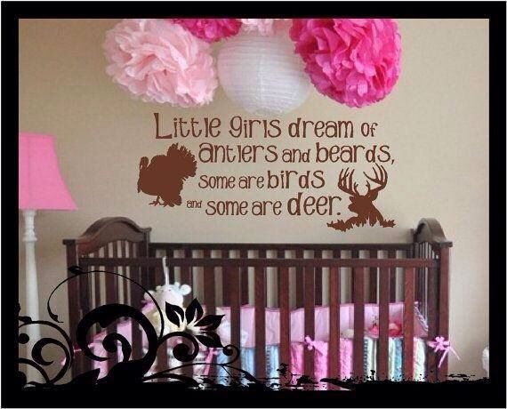 Baby girl country nursery