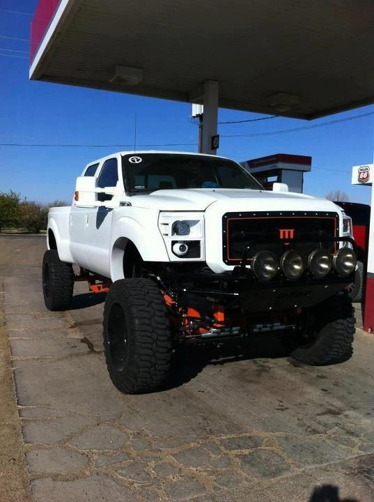 F-Series 6.7L V8 Turbo Diesel PowerStroke SuperDuty 4X4 ...