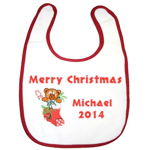 Personalised 1st Christmas Baby Christmas by BabysPreciousGifts