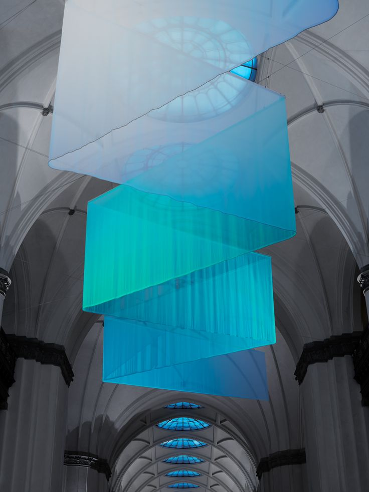 Mångata, northern lights and setting sun in exhibition on Nordic Light in Stockholm Nordiska Museet – the Nordic Museum in Stockhol