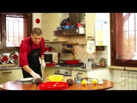 53 - La Carbonara di carciofi cucinata da Dario con il Coperchio Magico - YouTube