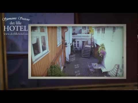Welcome to an unique hotel in the beautiful little town called Risor, south of Norway ♥
