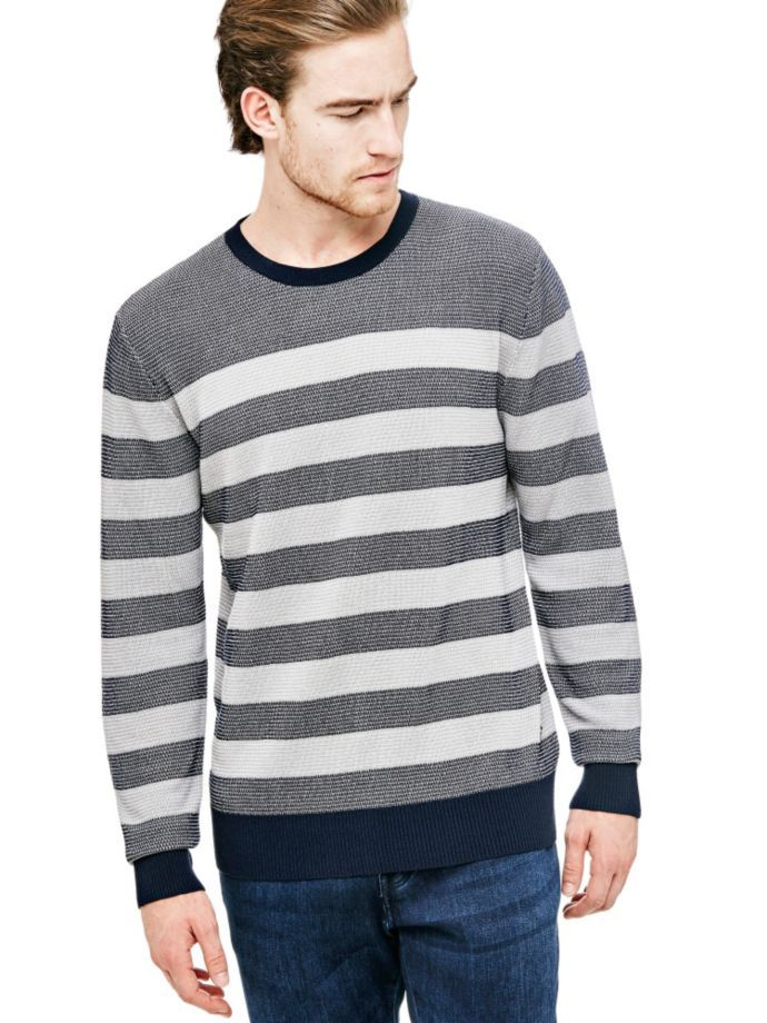 EUR69.90$  Buy now - http://viejr.justgood.pw/vig/item.php?t=zmpltpm28884 - STRIPED SWEATER