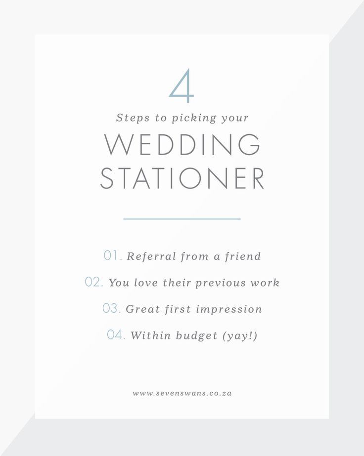 Not sure how to go about finding the perfect wedding stationery? Seven Swans Stationery