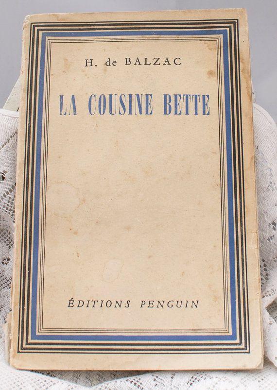 La Cousine Bette 1946 Penguin in original by CollectableMrJones