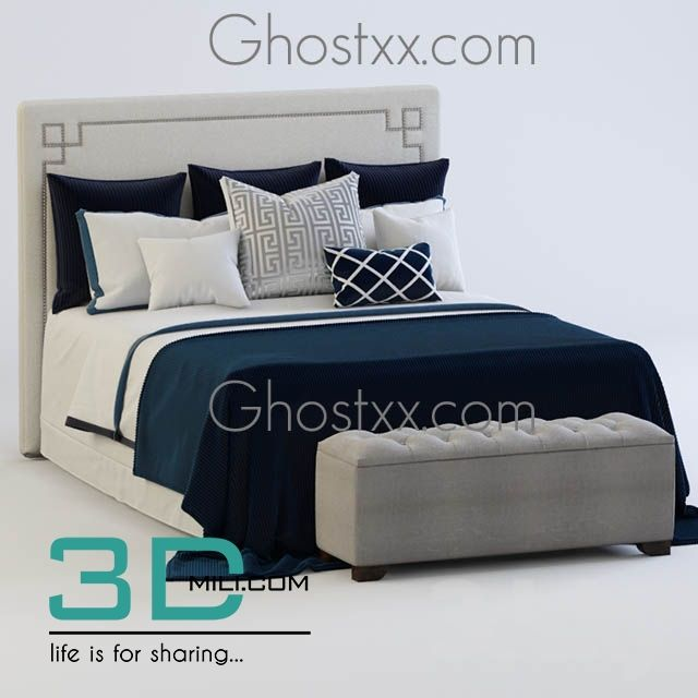 awesome 51. Bed 3D Models Free Download Download here: http://3dmili.com/furniture/bed/51-bed-3d-models-free-download.html