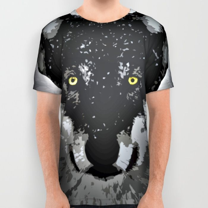Wolf All Over Print Shirt