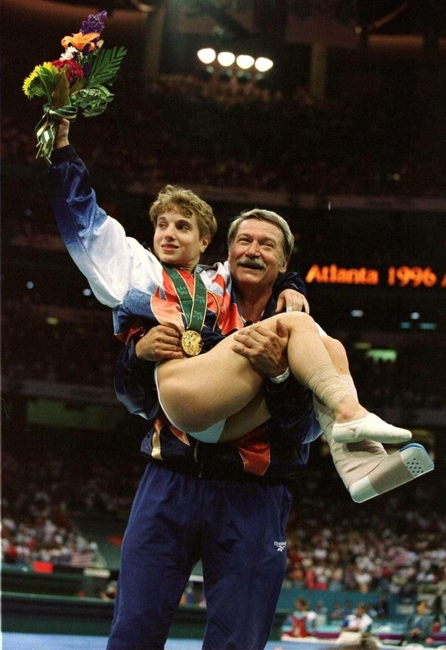 Keri Strug then: 19-years-old | Where Are They Now: The 1996 US Gymnastics Team