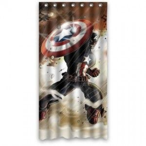 60 best images about becks new room ideas on pinterest erin gates superhero room and boy rooms - Captain america curtains ...