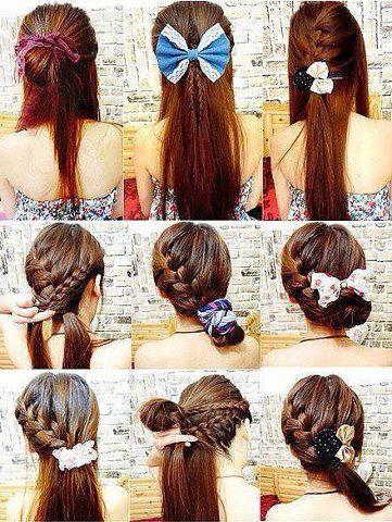 144 best Hair styles images on Pinterest