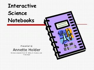 Great way to introduce science interactive notebooks to the class the first week (or so) of school!