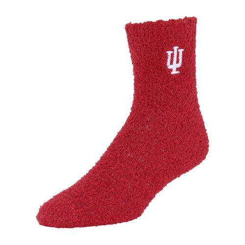 fe3e4be8 Adult Indiana Hoosiers Gripper Socks   Wish list   Indiana, Socks ...
