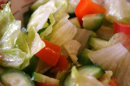 Building up immune system through healthy diet.