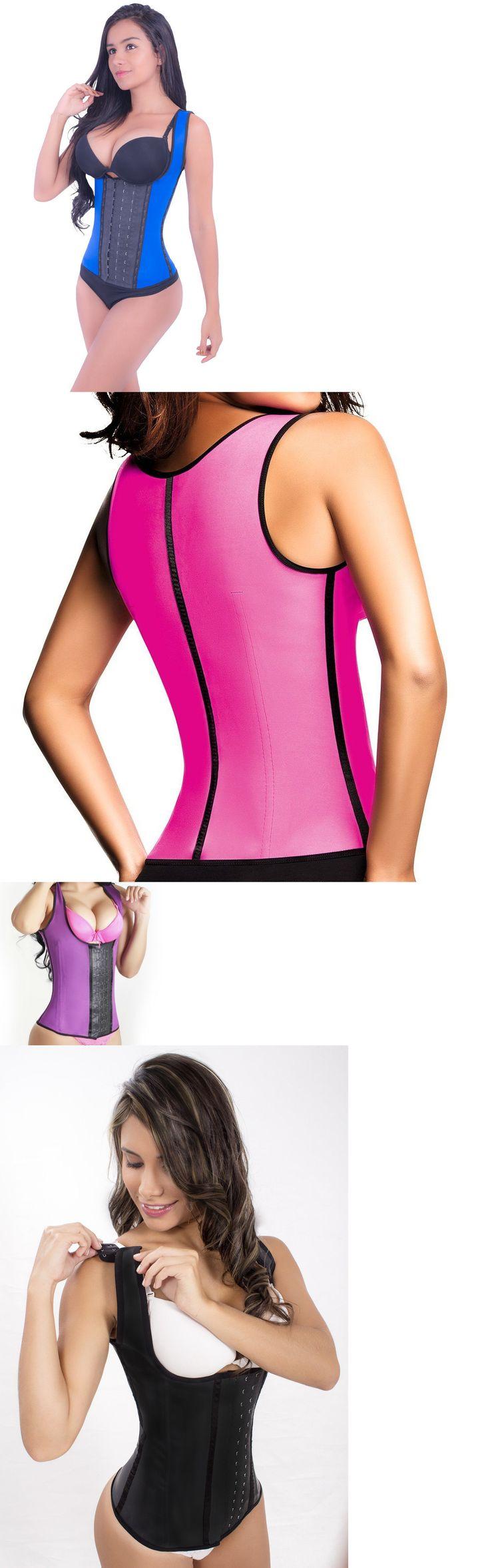 Women Shapewear: #1 Colombian Faja Latex Semi-Vest. Girdle Cincher Waist Trainer Original Shaper BUY IT NOW ONLY: $45.59