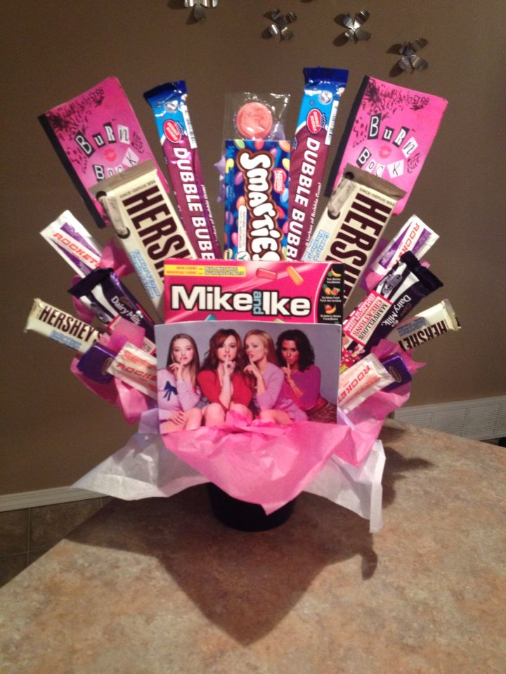 Mean girls candy bouquet candy bouquet pinterest for A salon solution port st lucie