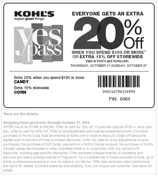 Active kohls coupon codes