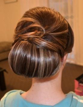 Beautiful #wedding hair