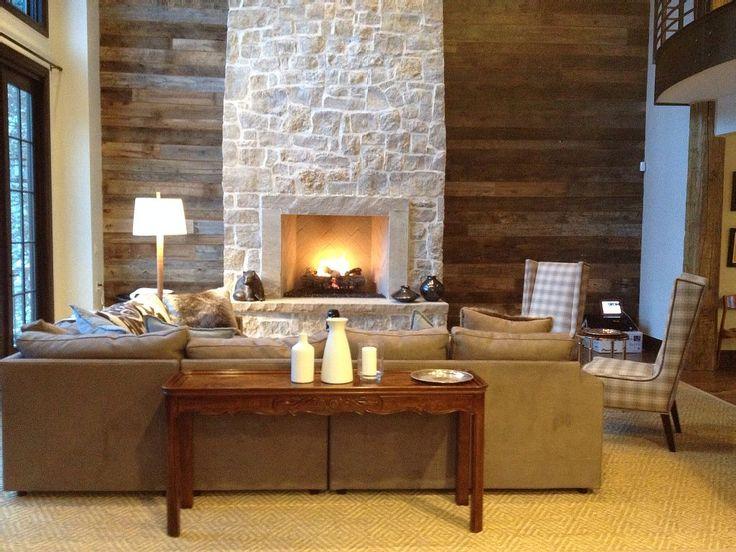 17 Best ideas about Off Center Fireplace on Pinterest