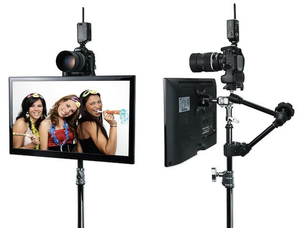 It's not uncommon these days for photographers to want to add a photo booth option to their offerings. In the past, we've seen everything from an awesome V