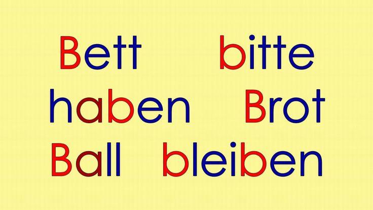 Deutsch Alphabet 1: A B C D