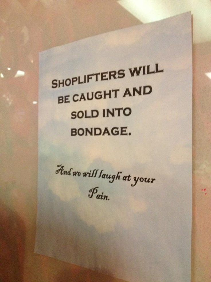 25 best Retail Shoplifting Responses.... images on ...