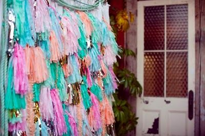 I have an obsession with crepe paper;  do you?