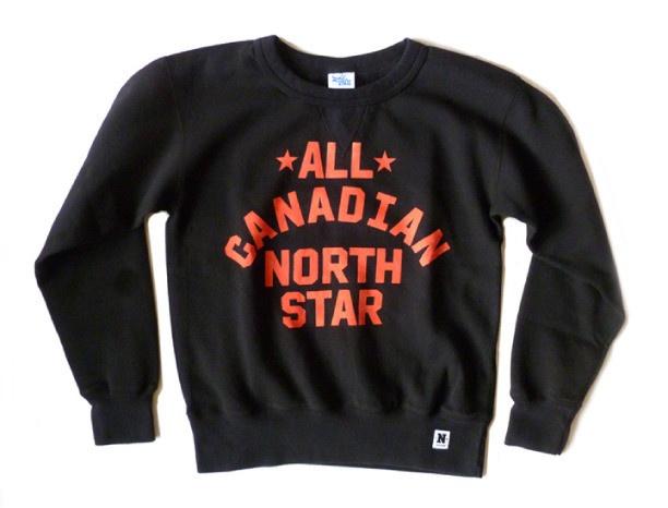 #AllCanadian North Star Crew Neck