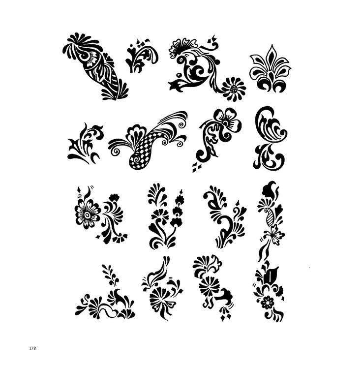 Картинки узоры для хны