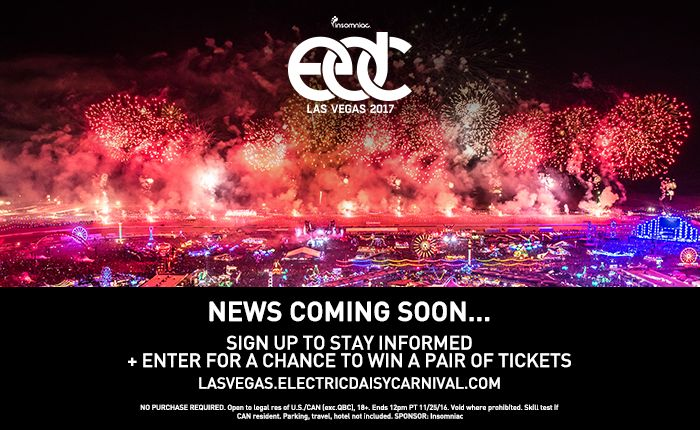 Here's Your Chance to Win Tickets to EDC Las Vegas 2017