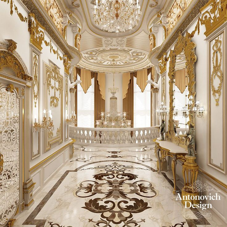 Dreams halls from antonovich design pinterest for Luxury classic interior design