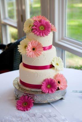 Wedding Cake IdeasGerber Daisies, Gerbera Daisies, Gerbera Daisy, Pink Weddings, Cake Ideas, Daisies Cake, Flower, Pink Wedding Cakes, Pink Cake