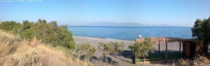 #Knidos, #Datça | View from #Kos #Island, #Agios  #Fokas, #Dodecanese, #Greece