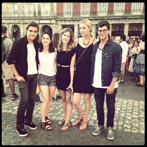 Jorge, Lodovica, Martina, Mercedes & Diego