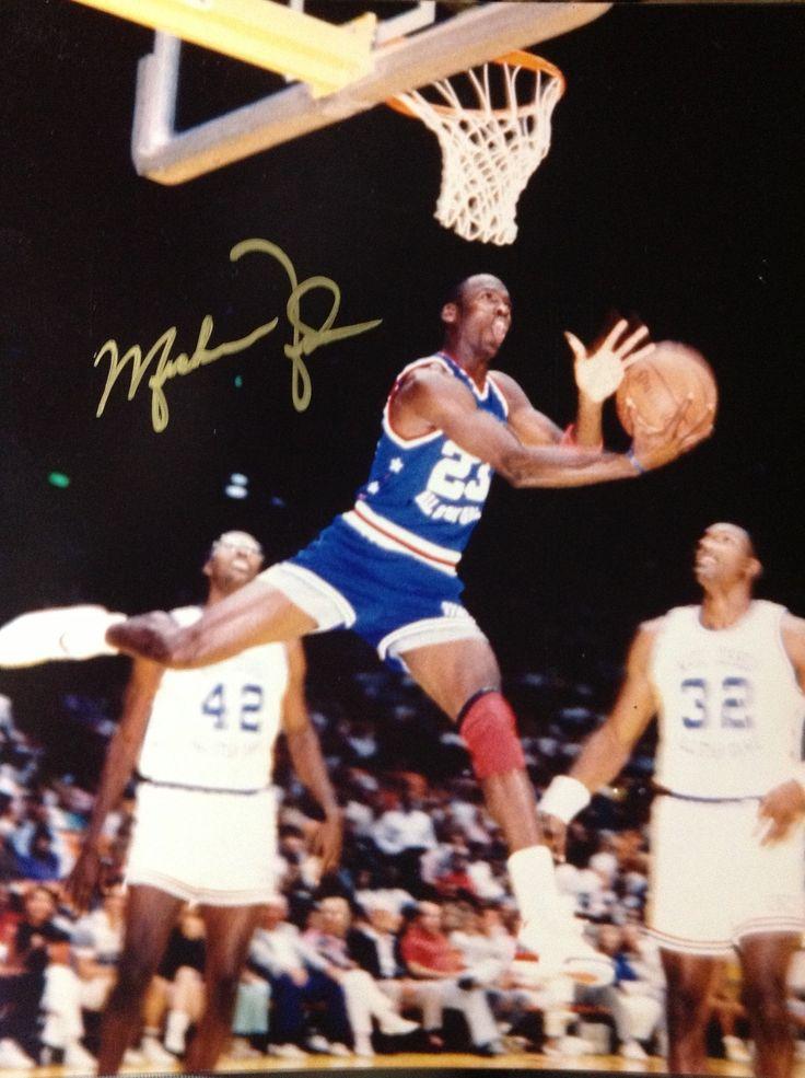 Michael Jordan Rare Autograph reprint.