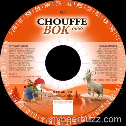 mybeerbuzz.com - Bringing Good Beers & Good People Together...: Chouffe - Bok 6666