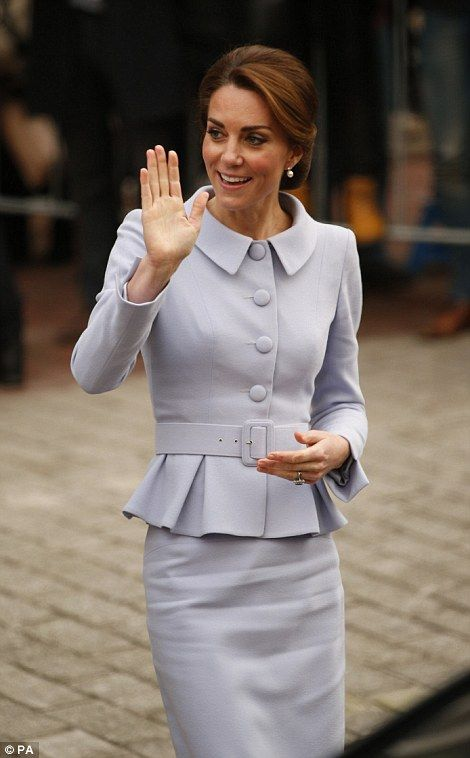 There were plenty of well-wishers still lining the streets of Rotterdam to see the duchess off after her busy day