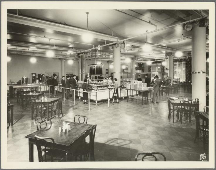 Washington Square New York University Cafeteria